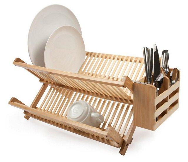 Dish Rack w/ Utensil Holder