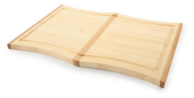 Large Bamboo Orchid Cutting Board