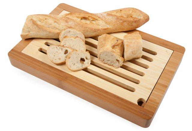 Slotted Bread Board