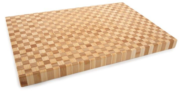Pro Chef Checkered Cutting Board
