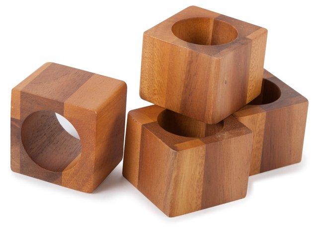 S/8 Cube Napkin Rings