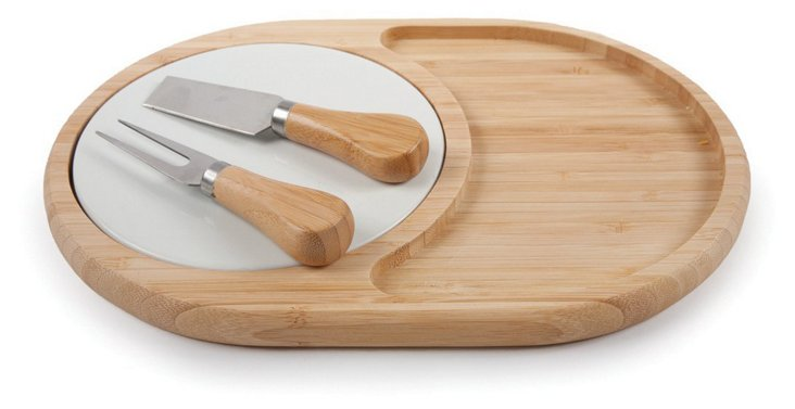 3-Pc Cheese Serving Set