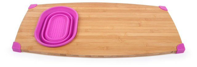 Over-the-Sink Cutting Board, Magenta