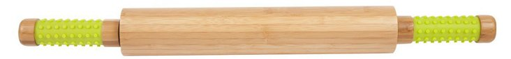 Easy-Grip Bamboo Rolling Pin, Lime