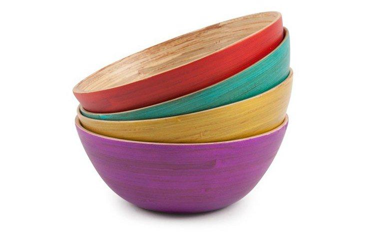 S/4 Bright Bowls, Multi