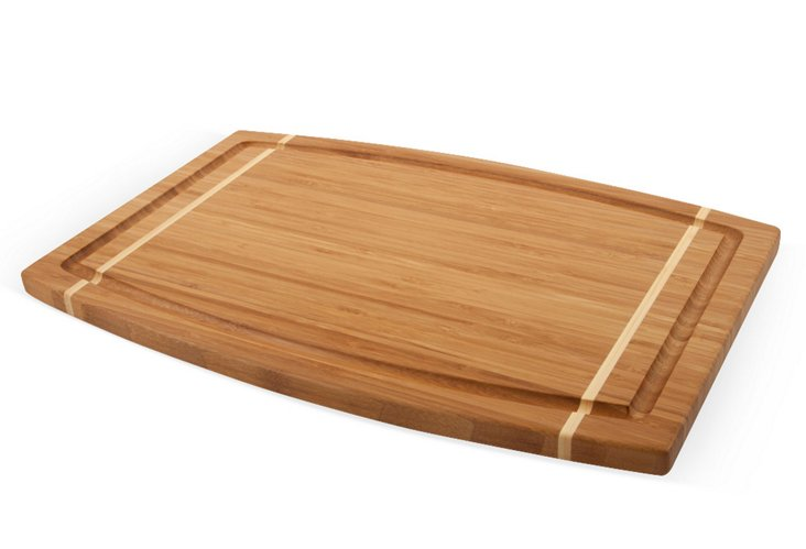 Geranium Collection Cutting Board, Large