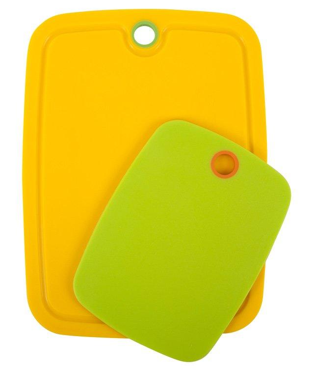S/2 Non-Slip Boards, Lime/Banana