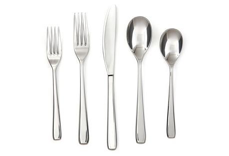 45-Pc Joli Mirror Stainless-Steel Set