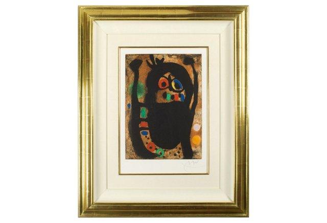 Miró, La Femme aux Bijoux