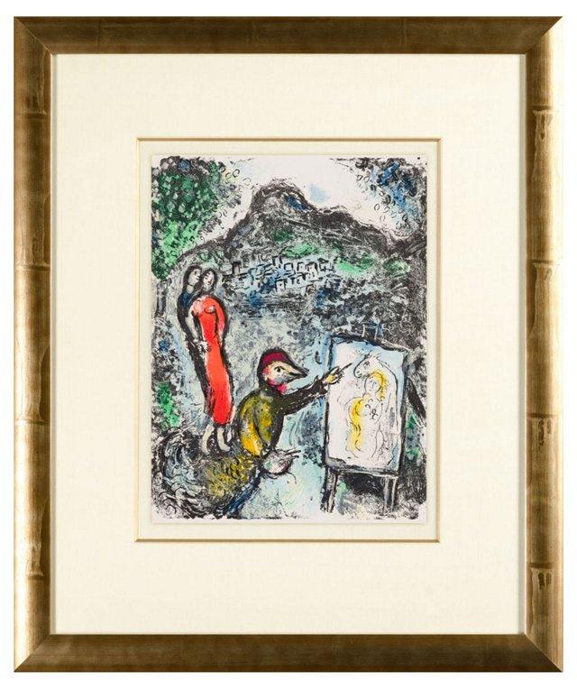 Chagall, Devant le Tabeau