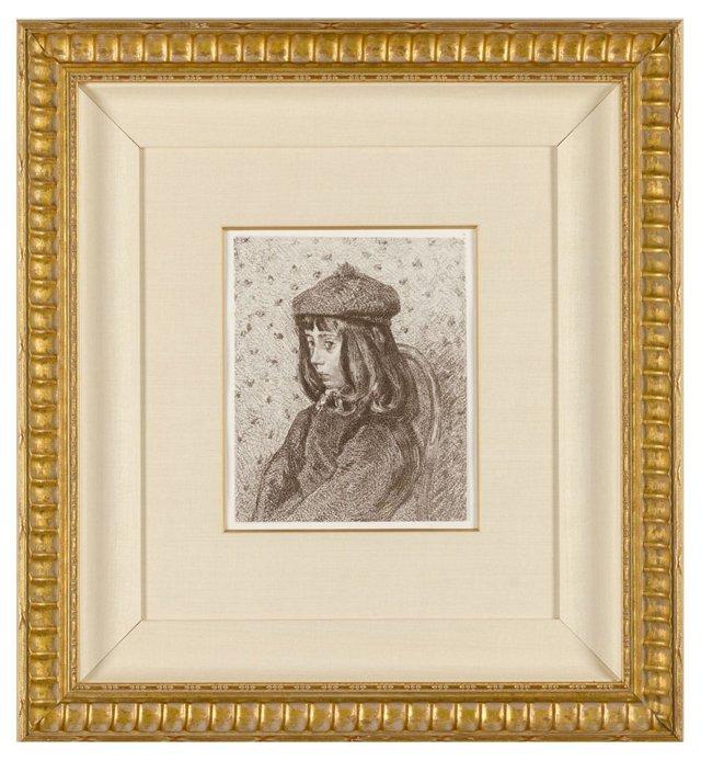 Pissarro, Portrait de F.C.P