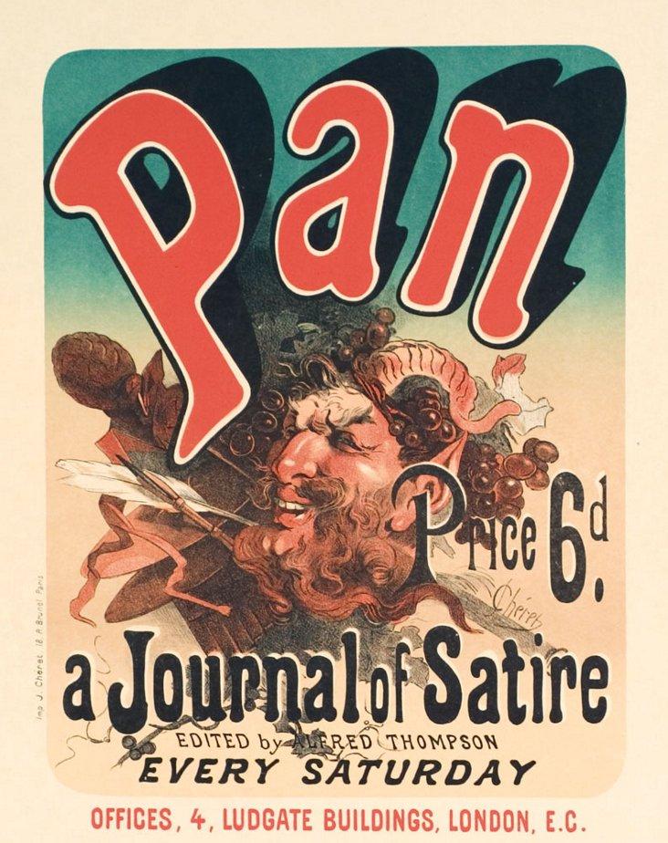 Chéret, Pan, August 1897