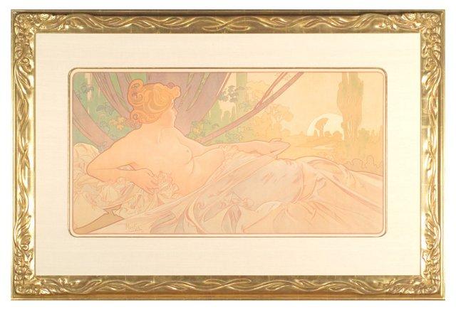 Mucha, Aurore (Dawn), 1899