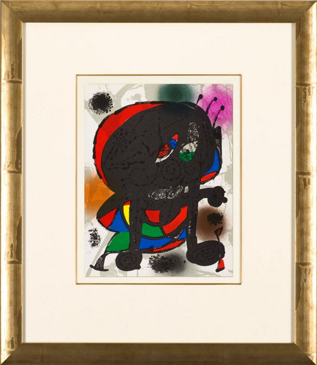 J. Miró, Untitled, Lithographes II 1977