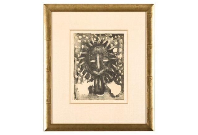 Picasso, Deux Têtes I 1949