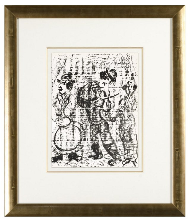 Chagall, Les Musiciens Vagabonds, 1963