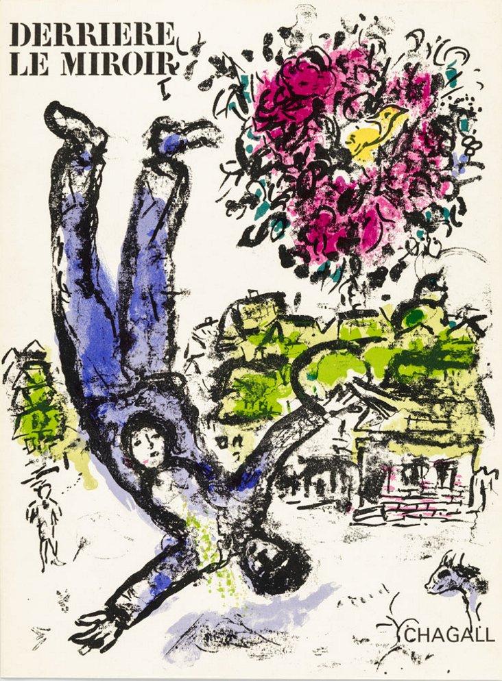 Marc Chagall, Bouquet De L'Artiste 1964