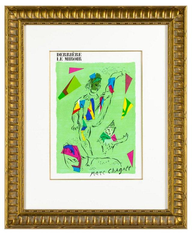 Marc Chagall, L'Acrobate Vert 1979