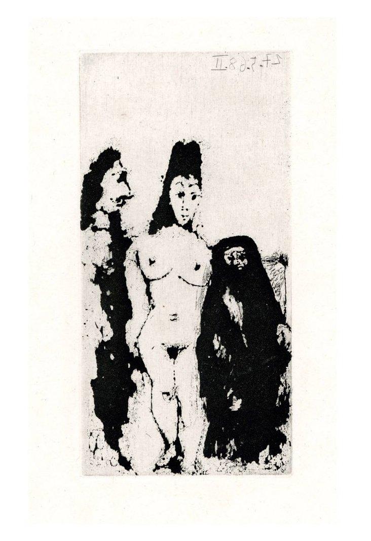 Picasso, Célestine, Maja Et Complice
