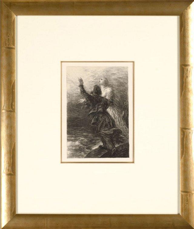 Fantin-Latour, Le Vaisseau Fantôme