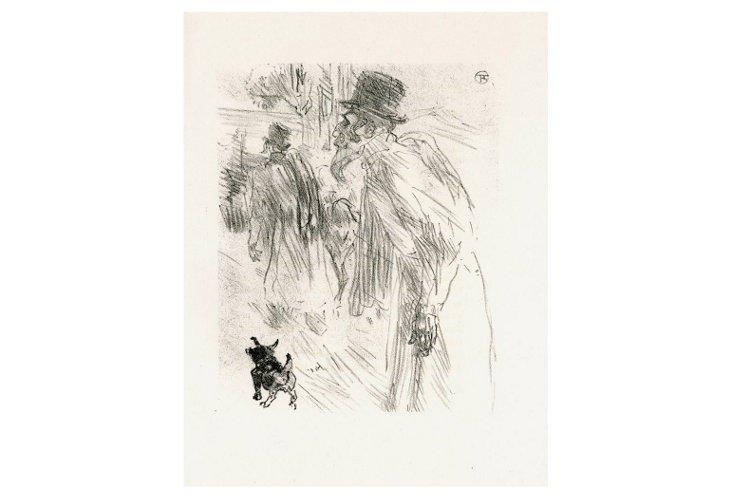 Toulouse-Lautrec, Les Juifs Polonais