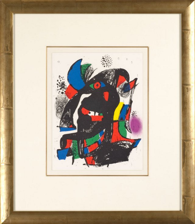 Joan Miró, Untitled Lithographes IV