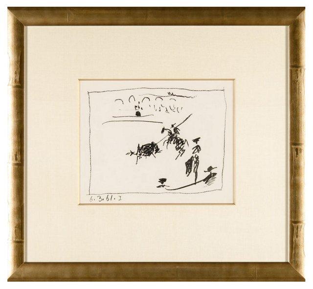 Picasso, La Pique (The Pike) 1961