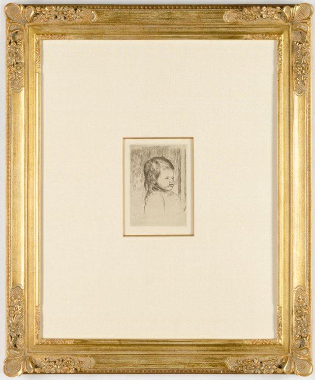 Renoir, Buste D'Enfant, Tournée À Droite