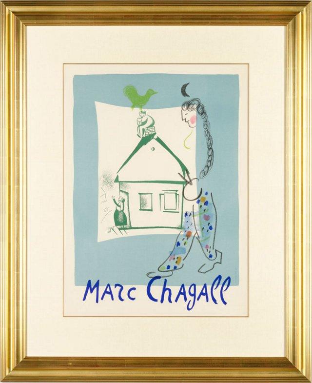 Marc Chagall, La Maison De Mon Village