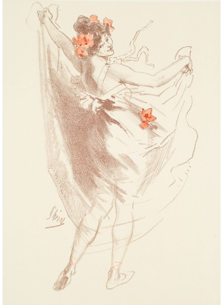 Jules Chéret, Dance 1899
