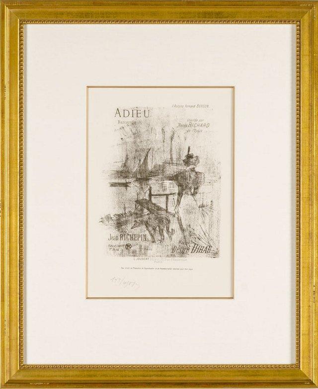 Toulouse-Lautrec, Adieu (Farewell)