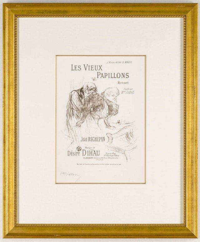 Toulouse-Lautrec, Les Vieux Papillons