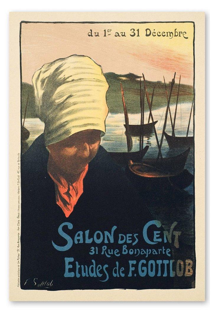 Fernand Gottlob, Salon de Cent  1900