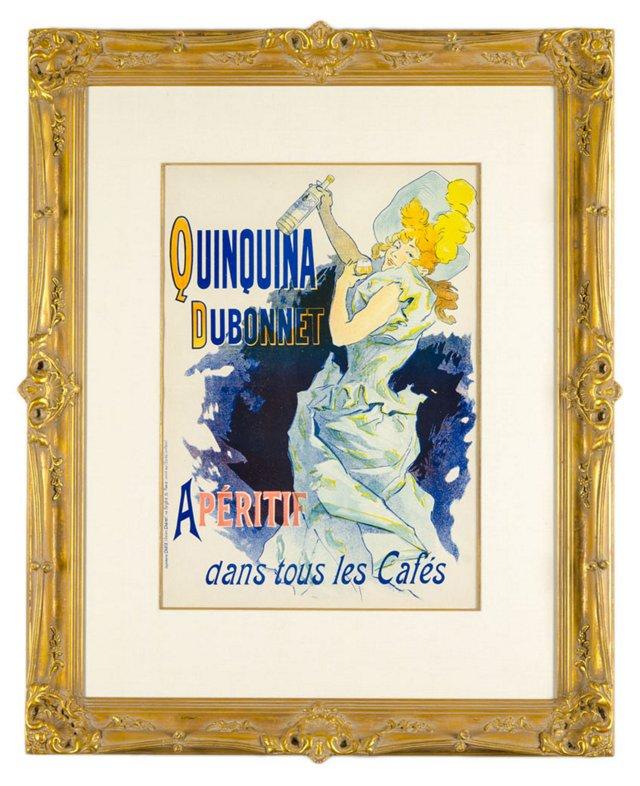 Jules Chéret, Quinquina Dubonnet  1896