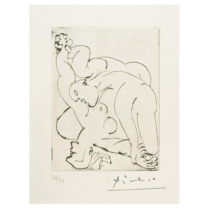 Pablo Picasso, Le Viol