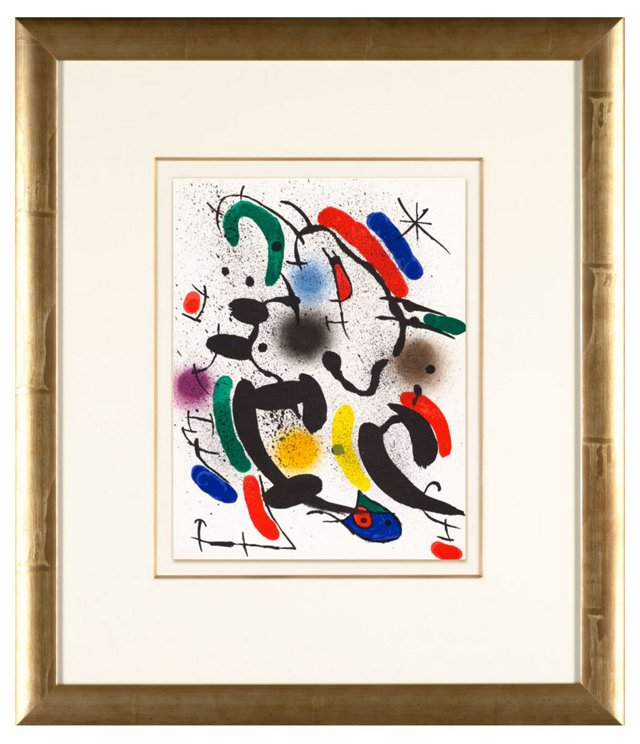 Untitled Joan Miró Lithographe I 1972