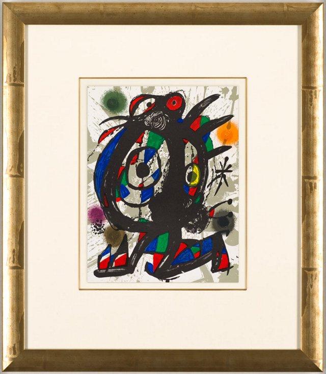 Joan Miró, Lithographe III1 1977