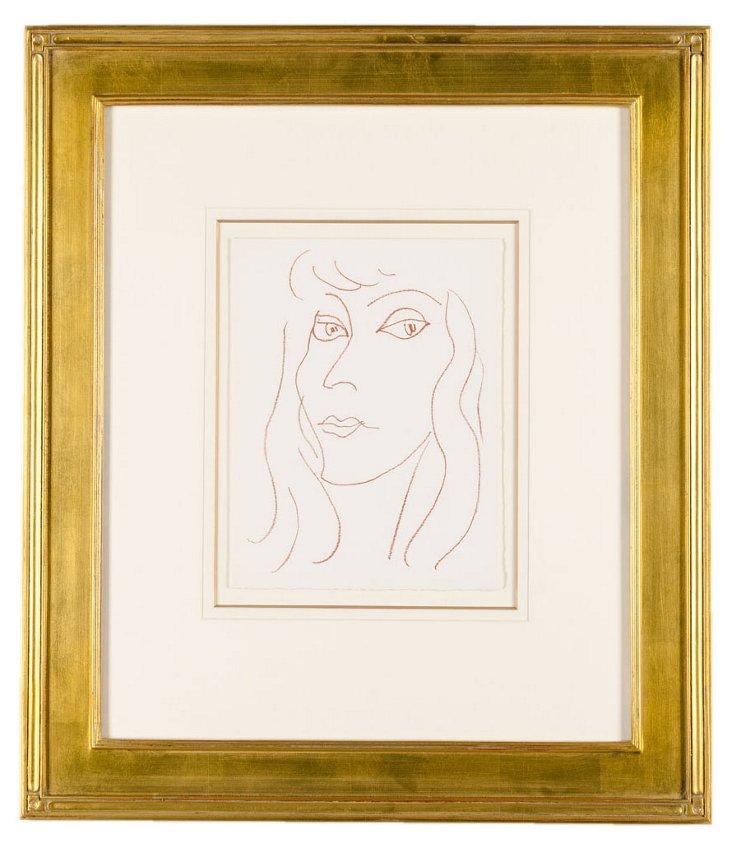 Henri Matisse, Lumiere Rousse 1946
