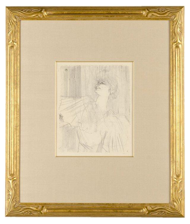 Toulouse-Lautrec, Yvette Guilbert 1898