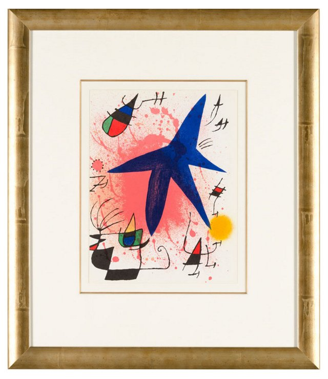 Untitled From Joan Miró Lithographe I.I