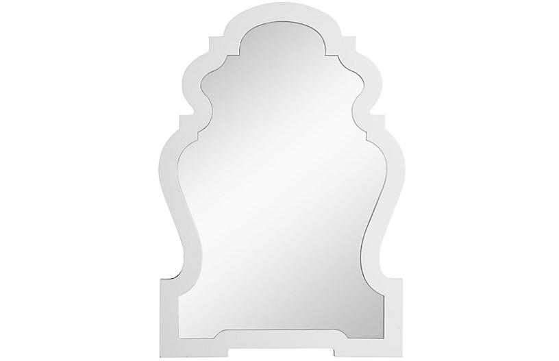 Harrison Wall Mirror, White