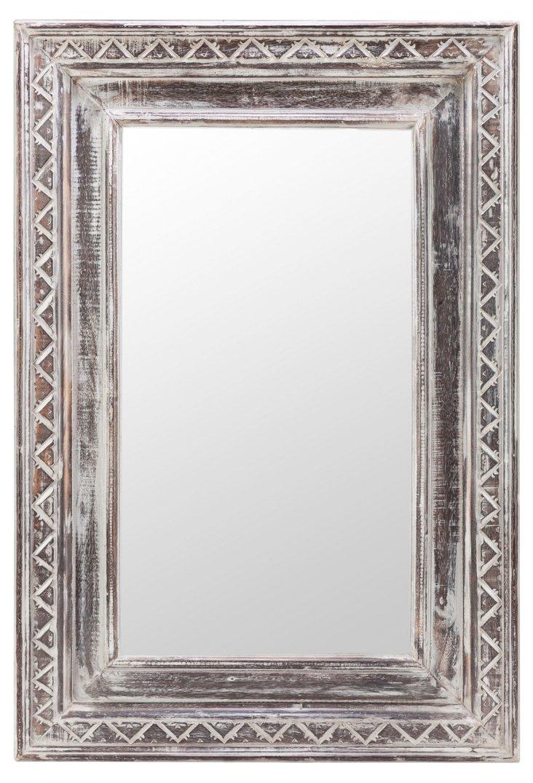 Lexi Oversize Mirror, Gray