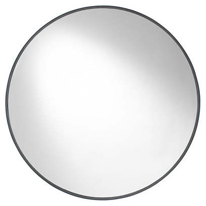 Lilly Wall Mirror, Mocha