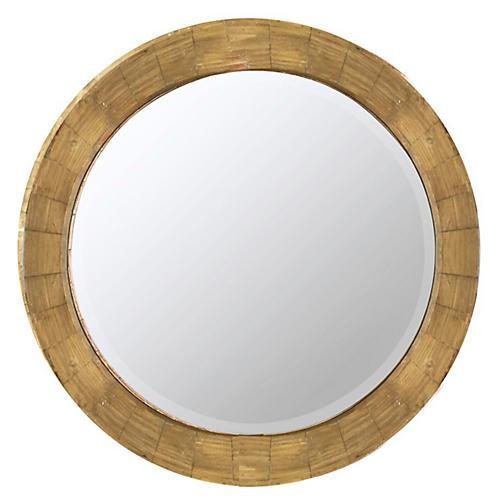Parvati Wall Mirror, Natural