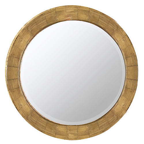 Parvati Wall Mirror, Natural