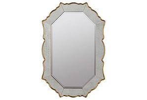 Venetian Inspired Mirror, Gold*