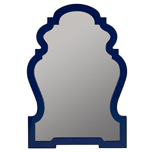 Harrison Wall Mirror, Cobalt