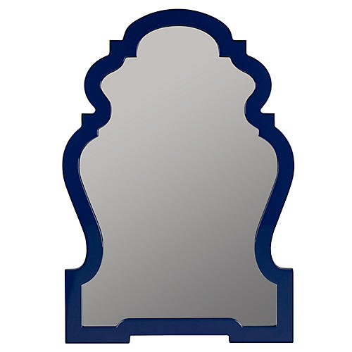 Harrison Wall Mirror, Cobalt