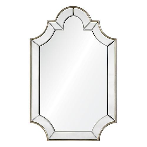 Beinville Wall Mirror, Silver