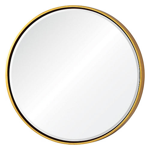 Kylie Wall Mirror, Gold
